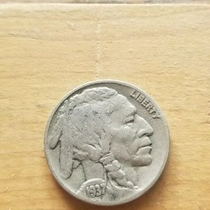 Other - 1937 buffalo nickle, good condition